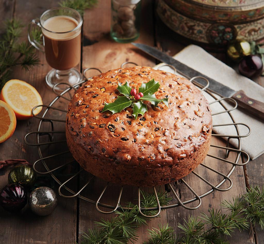 Vegan Christmas Cake Recipe