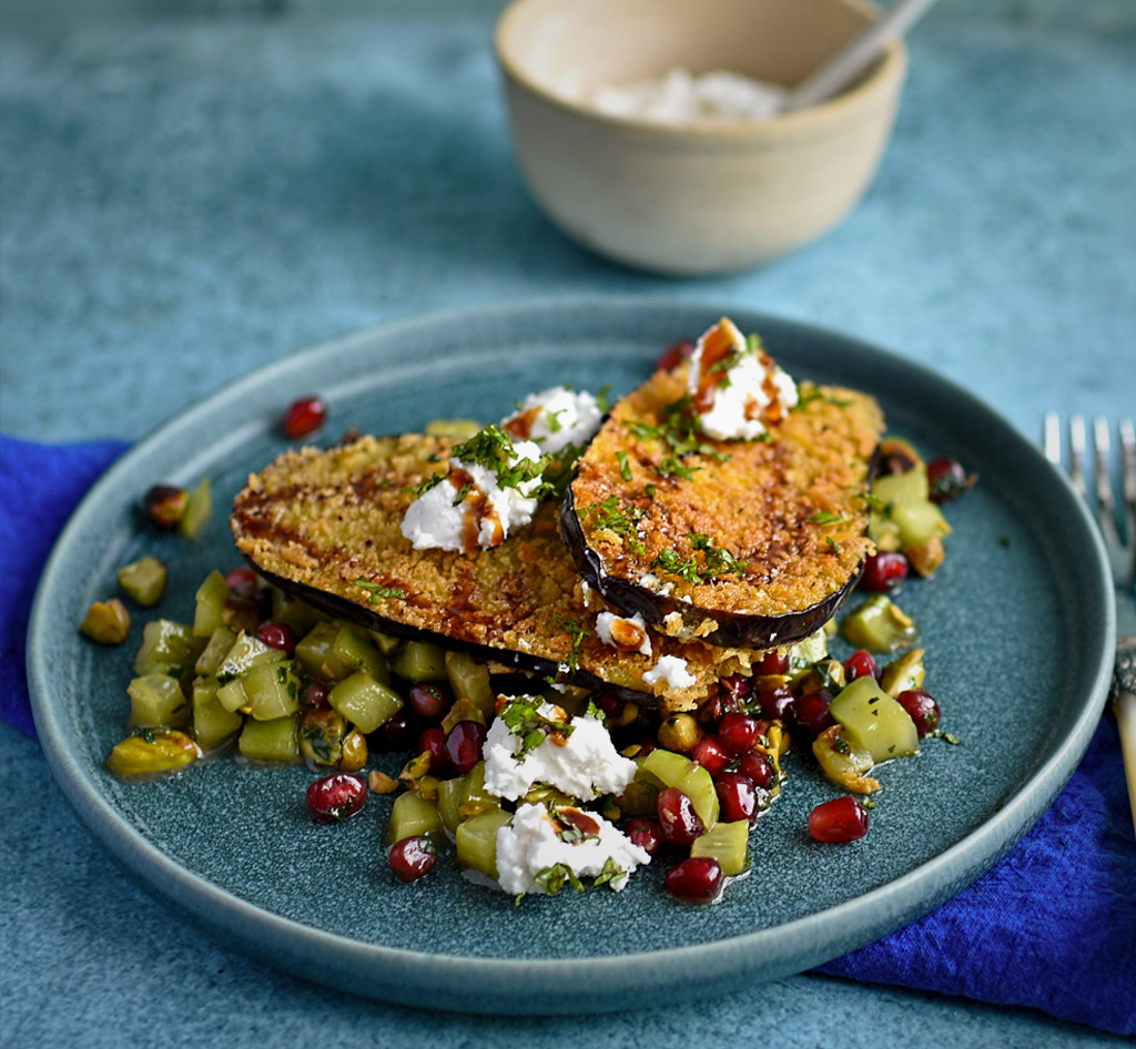 Aubergine Fritters